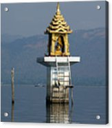 Inle Lake Temple Acrylic Print
