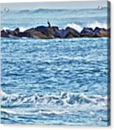 Inlet Waves Acrylic Print