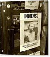 Inmenso Cohiba Acrylic Print by Debbi Granruth