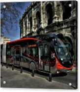 Inner City Tram Acrylic Print