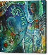 Inner Goddess By Reina Cottier Acrylic Print