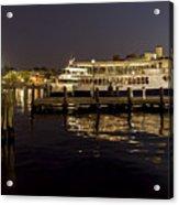 Inner Harbor Tour Boat Acrylic Print