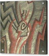 Inner Turmoil  Detail Acrylic Print