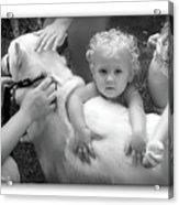 Innocence And Love Acrylic Print
