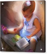 Innocence And The Bible - Cuba Acrylic Print by Bob Salo
