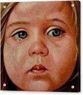 Innocence Acrylic Print by Saba Aghajan