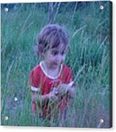 Innocense Of A Child Acrylic Print