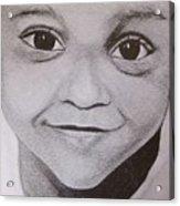 Innocent Smile Acrylic Print