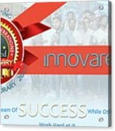 Innovare It Solutions Acrylic Print