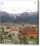 Innsbruck View Acrylic Print