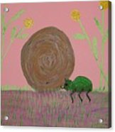 Insect Happy Meal Acrylic Print