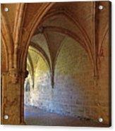 Inside A Monastery Dordogne France  Acrylic Print