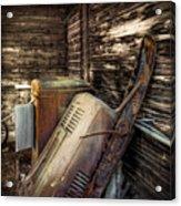 Inside Barn Acrylic Print