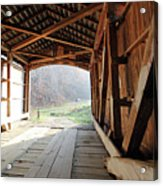 Inside Big Rocky Fork Bridge Acrylic Print