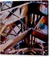 Inside Eiffel Acrylic Print