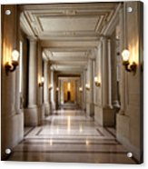 Inside Government Acrylic Print