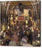 Inside Istanbuls Grand Bazaar Acrylic Print