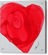Inside My Heart 2 Acrylic Print