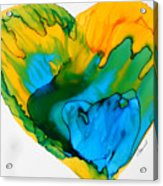 Inside My Heart 3 Acrylic Print