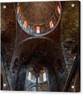 Inside Of Mystras Church Acrylic Print
