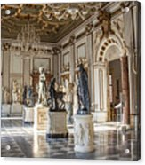 Inside One Of The Rooms Of The Capitoline Museums In Rome, Italy  Acrylic Print