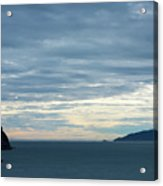 Inside Passage Sunset Acrylic Print