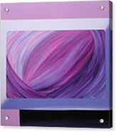 Inside Purple Acrylic Print