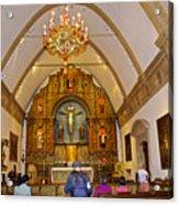 Inside Sanctuary At Carmel Mission-california  Acrylic Print
