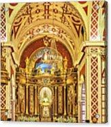 Inside The Basilica Acrylic Print