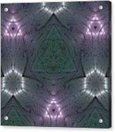 Inside The Crystal Acrylic Print
