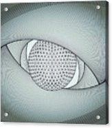 Inside The Eye Acrylic Print