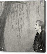 Inside The Frame Acrylic Print by Philippe Taka