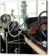 Inside The Packard - 2 Acrylic Print