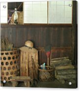 Inside The Traditional Japanese House Acrylic Print