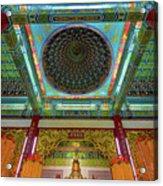 Inside Thean Hou Temple Acrylic Print
