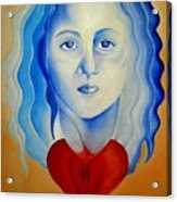 Insideout Acrylic Print by Yxia Olivares