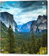 Inspiration Point Yosemite Acrylic Print