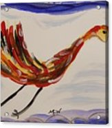 Inspired By Calder's Only Only Bird Acrylic Print