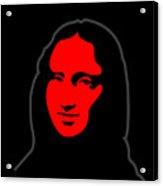 Inspired by Mona Lisa - Hommage a Leonardo da Vincy Acrylic Print