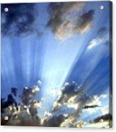 Inspiring Sunburst Acrylic Print