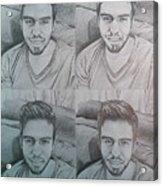 Instagram Portrait Acrylic Print