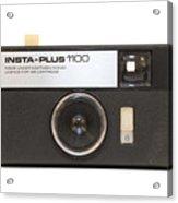 Instamatic Camera Acrylic Print