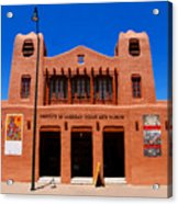 Institute Of American Indian Arts Museum Acrylic Print