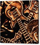 Instrumental Abstract Acrylic Print