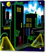 Intensecity Neon Nights Acrylic Print