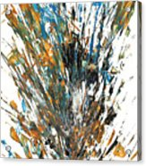 Intensive Abstract Painting 519.112011 Acrylic Print
