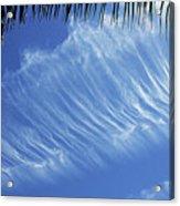 Interesting Clouds Over Phoenix Arizona Acrylic Print