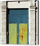 Interesting Door Acrylic Print