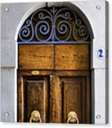 Interesting Door Acrylic Print