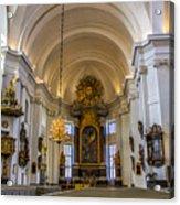 Interior Kalmar Cathedral Acrylic Print